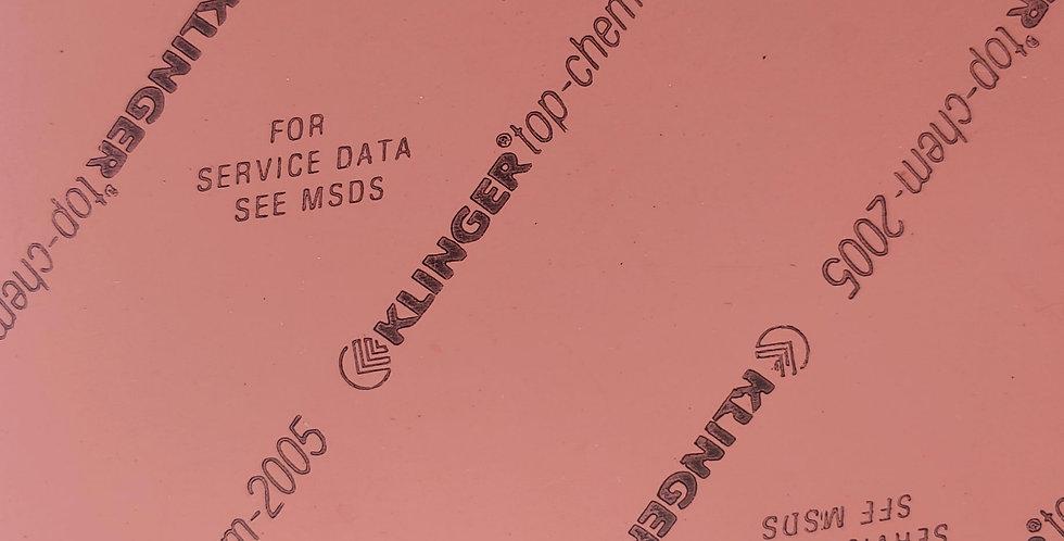 Klinger TopChem-2005 Gasket Sheet 1.5mm x 150mm x 150mm square