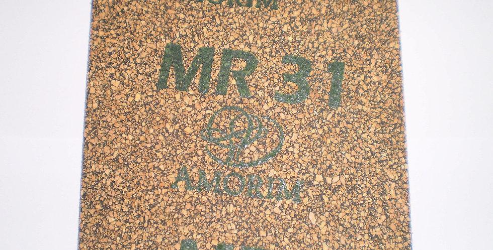Nitrile Cork Gasket Sheet Amorim MR 31 - 100mm x 100mm x 3mm Square