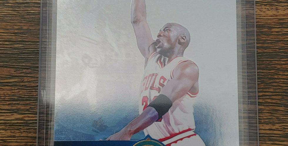 """1993-94 Upper Deck """"Holojam"""" Michael Jordan #H4 Hologram Insert"""