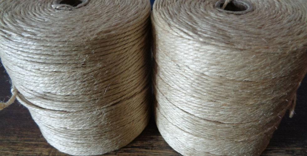 Lot of 2 x 315M Brown Twine String Rope Cord Shank Art Craft String DIY Making