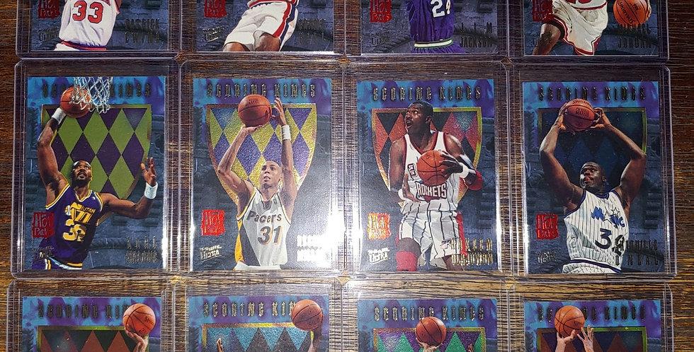 1995 Fleer Ultra Scoring Kings 12 Card Set