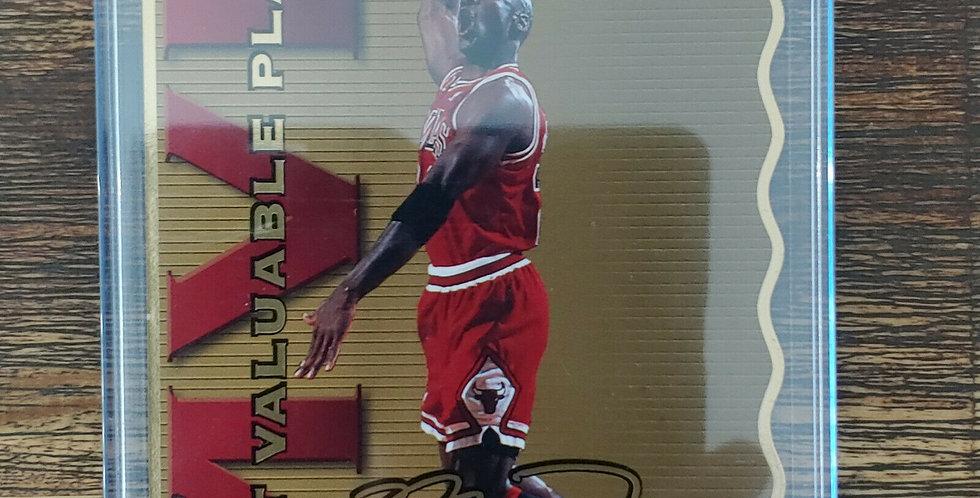 1996 Upper Deck Limited Edition Michael Jordan Jumbo Die Cut MVP 2199/2500