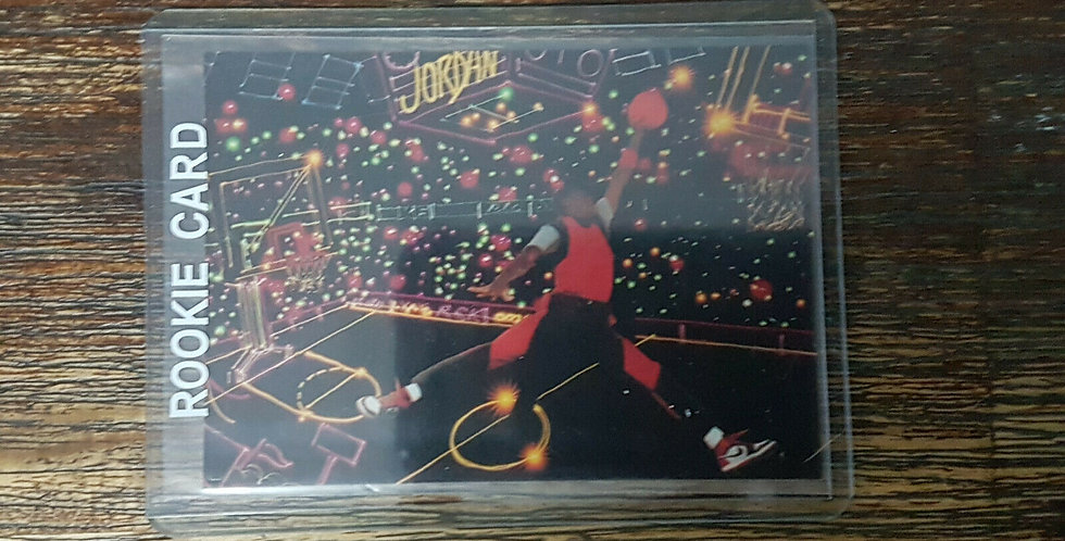 "Michael Jordan Rare Promo Card ""Spectacular, Stupendous, Unbelievable"" Air"