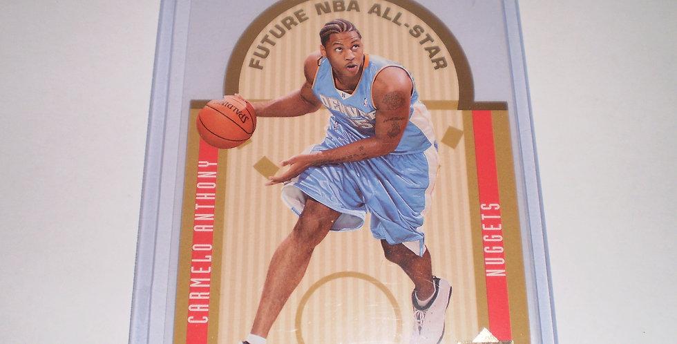 Carmello Anthony 2003-2004 Upper Deck Die Cut All-Star Rookie RC Card