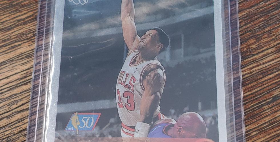 1996 Topps 50th Anniversary Foil Scottie Pippen #33