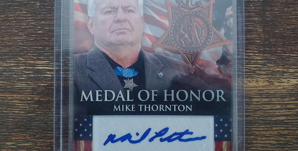 2012 Panini Americana Medal Of Honor Auto Mike Thornton 192/249