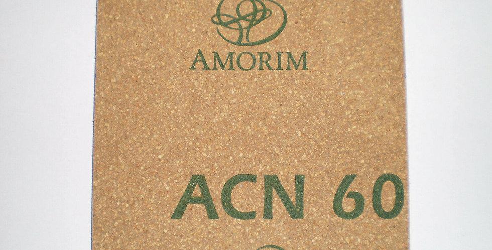 Amorim ACN 60 Cork Gasket 100mm x 100mm x 3.2mm (3mm)