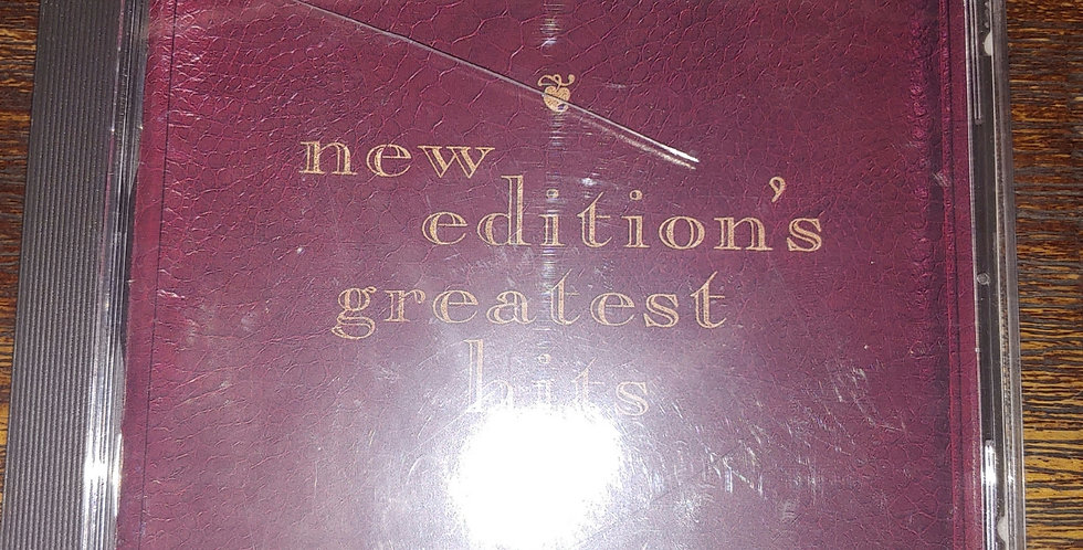 New Edition - Greatest Hits Vol. 1 (CD - 1991)