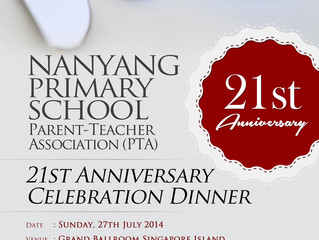 PTA 21st Anniversary Dinner – 27 July