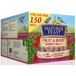''New'' 150s Nature's Feast Energy Balls Fruit & Berry