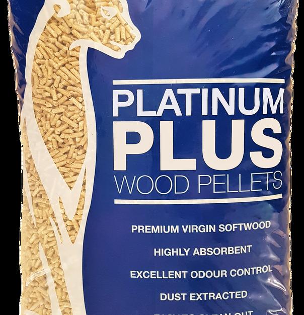 (30Ltr)Platinum Plus Wood Litter