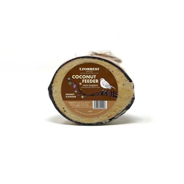 ''NEW'' Premium Suet Coconut Feeder - Peanut