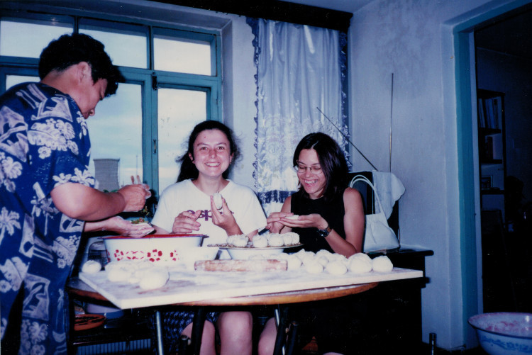 First Dumplings - Inner Mongolia, China 1999 - Copyright Ruth Zannis