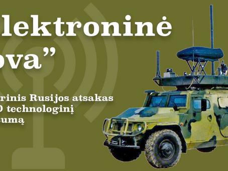 """""""Elektroninė Kova"""" — asimetrinis Rusijos atsakas į NATO technologinį pranašumą"""