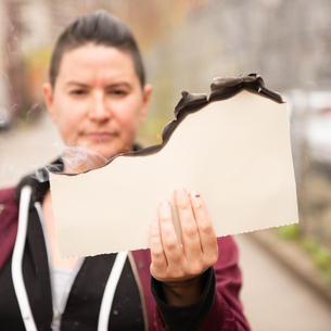 Burnt Paper, Performance, Porcupine Quills, Ash, Outdoor, Art Work