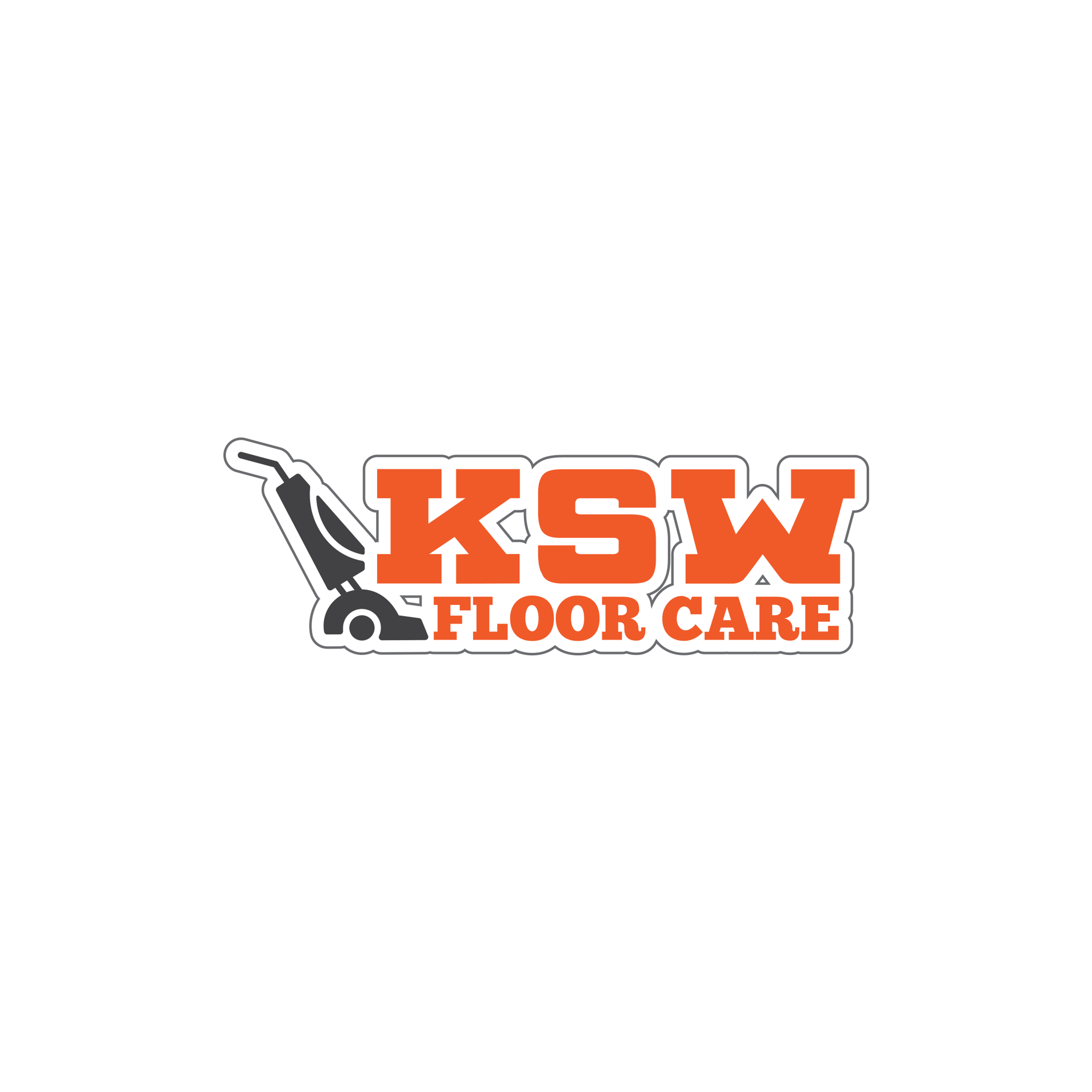 KSW Floor Care Logo Design