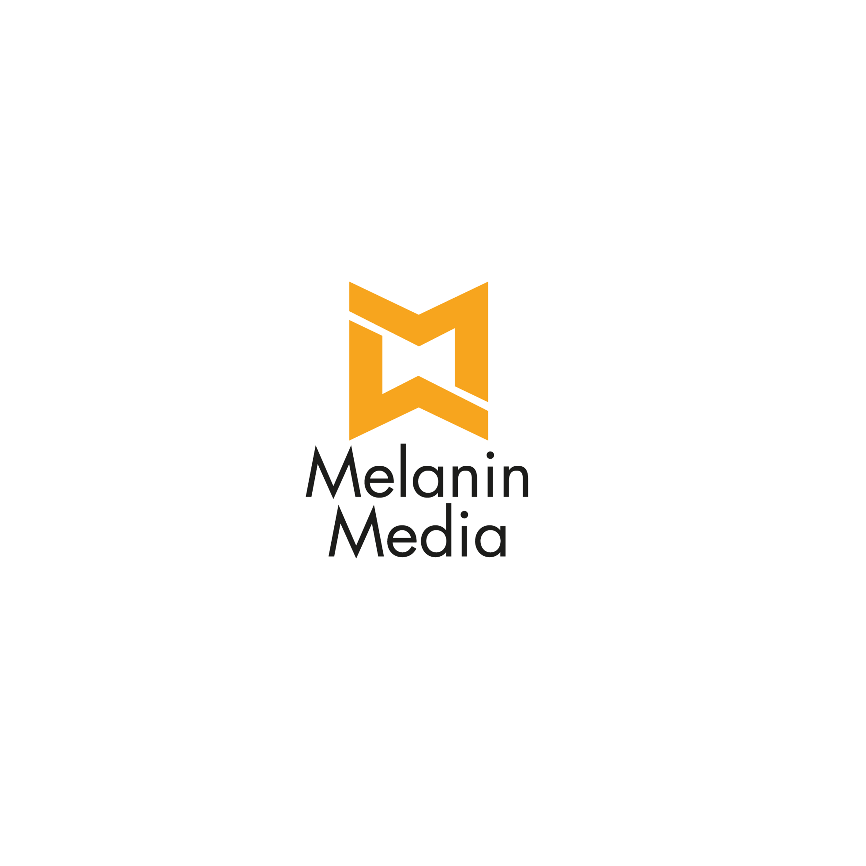 Melanin Media Logo Design