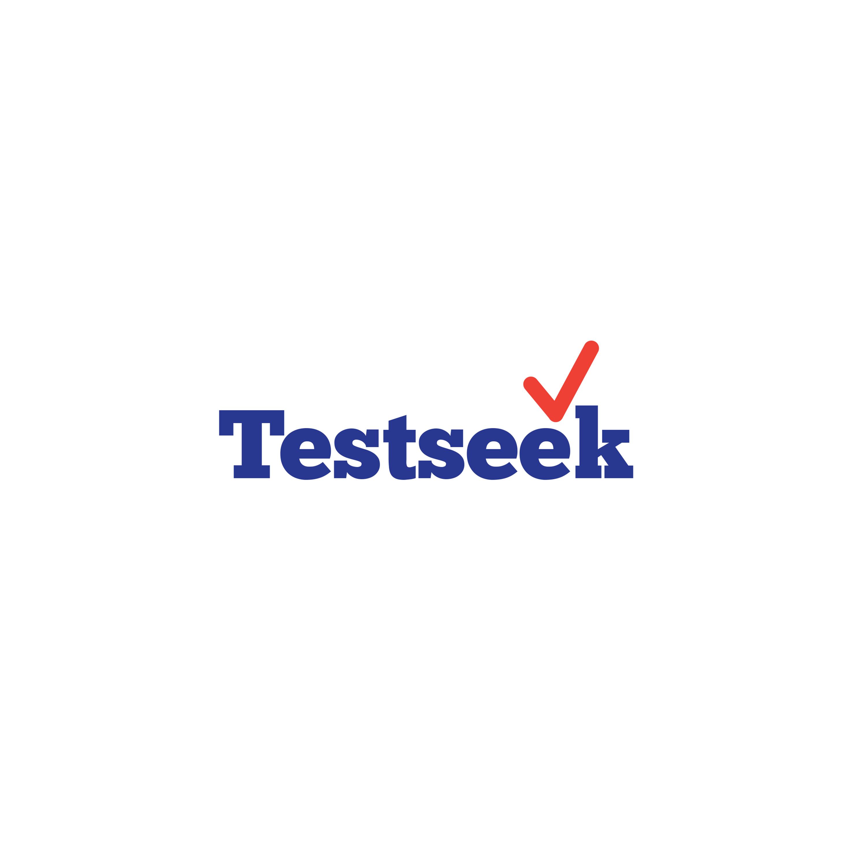 Testseek logo Design