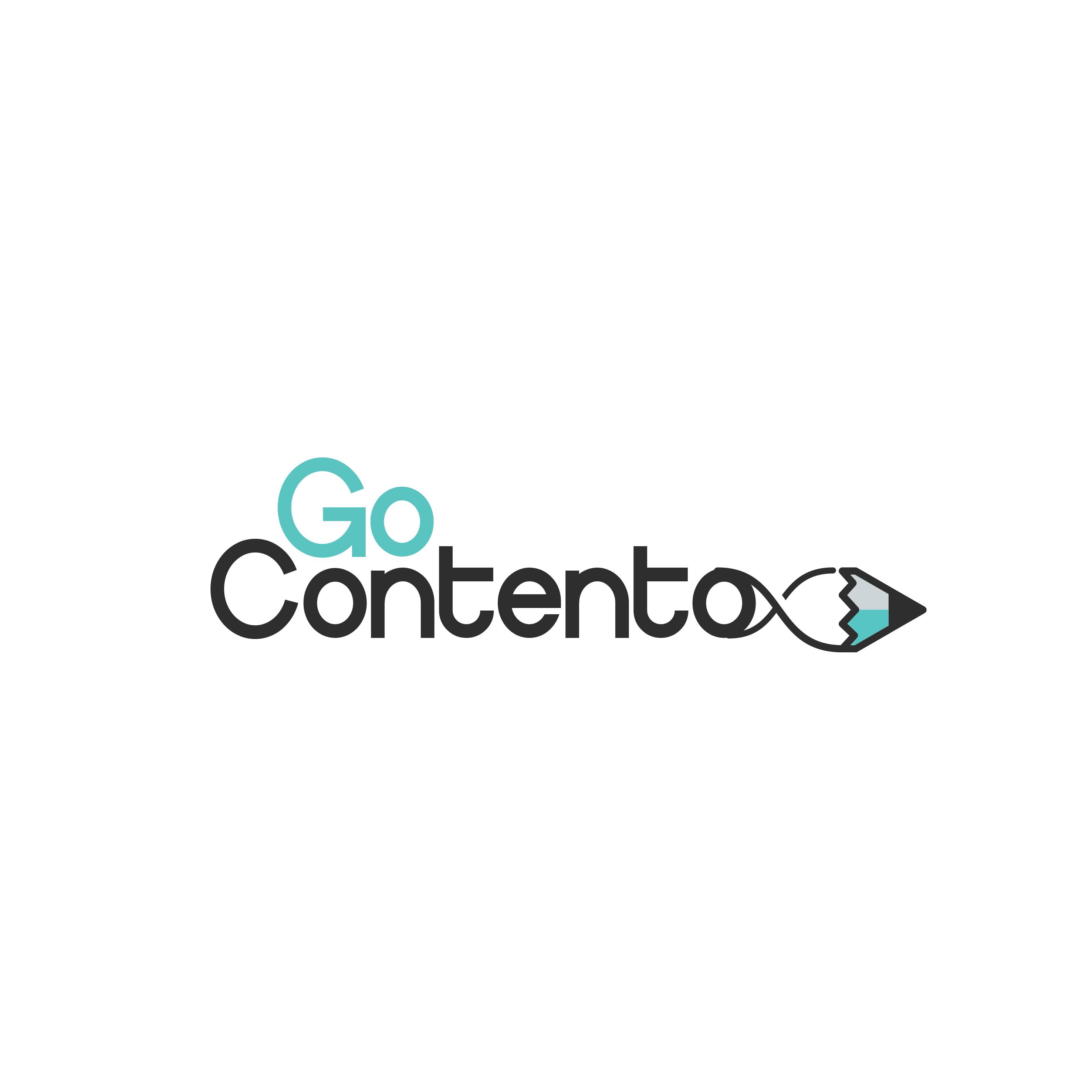 Go Contento Logo design