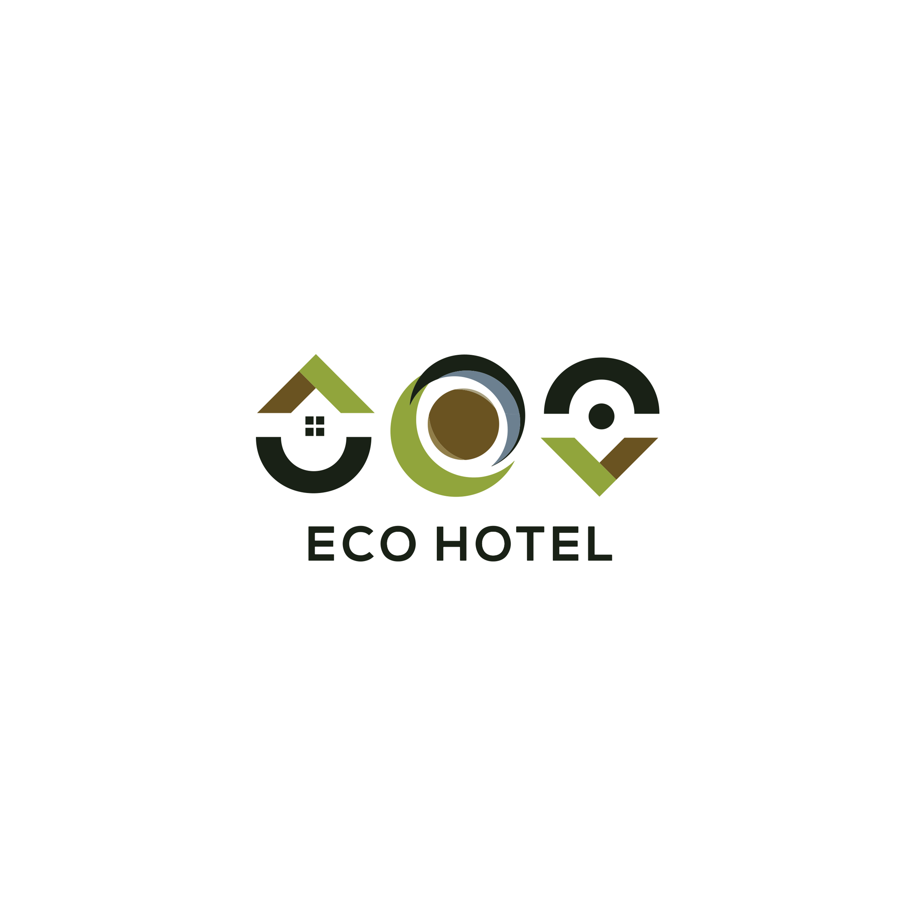 Eco Hotel Logo Design
