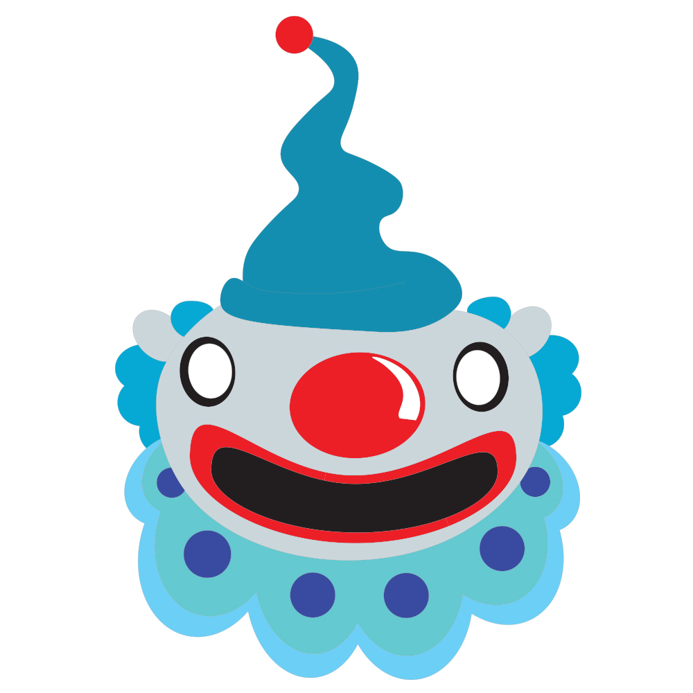 Blue_Clown_Face