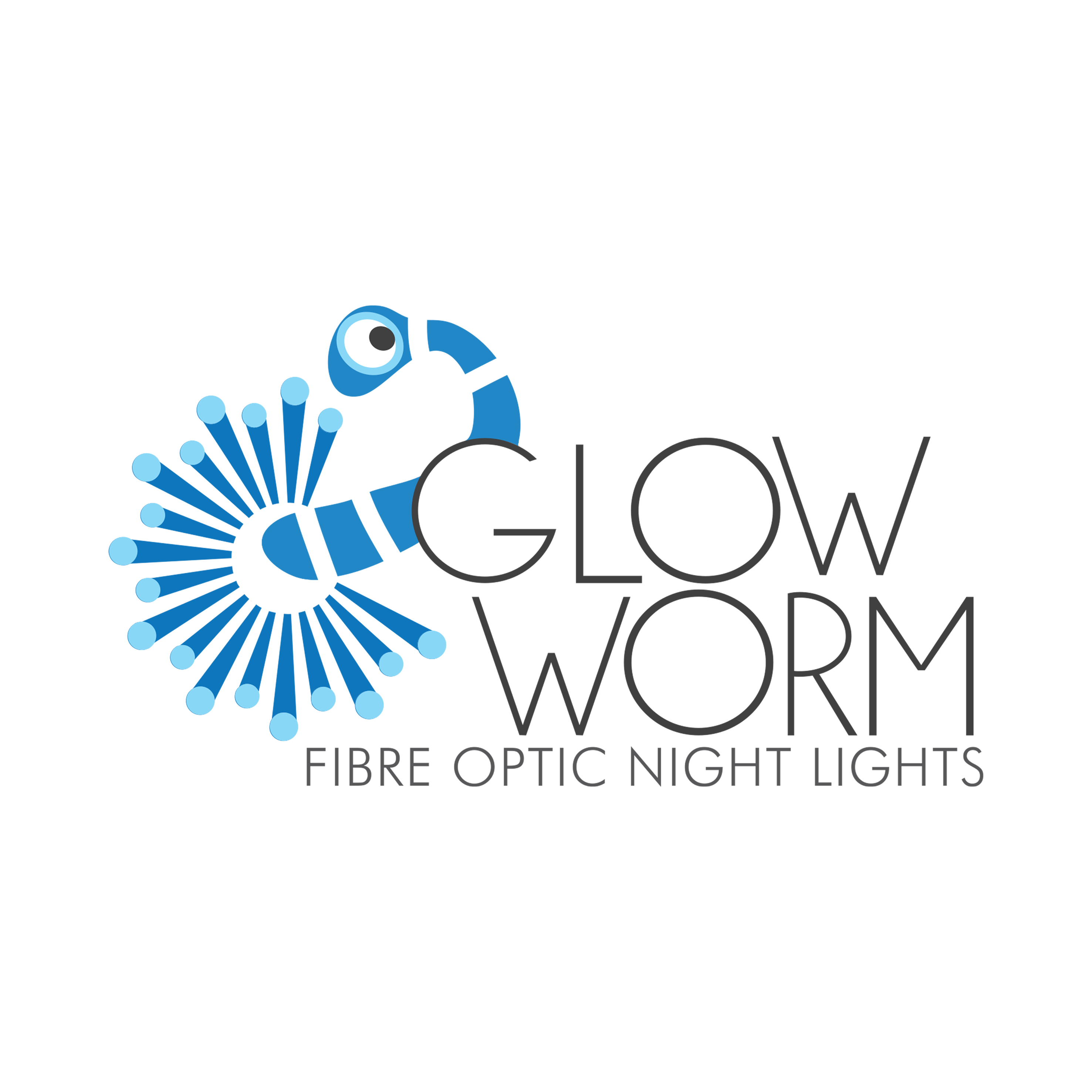 Gloworm Logo Design