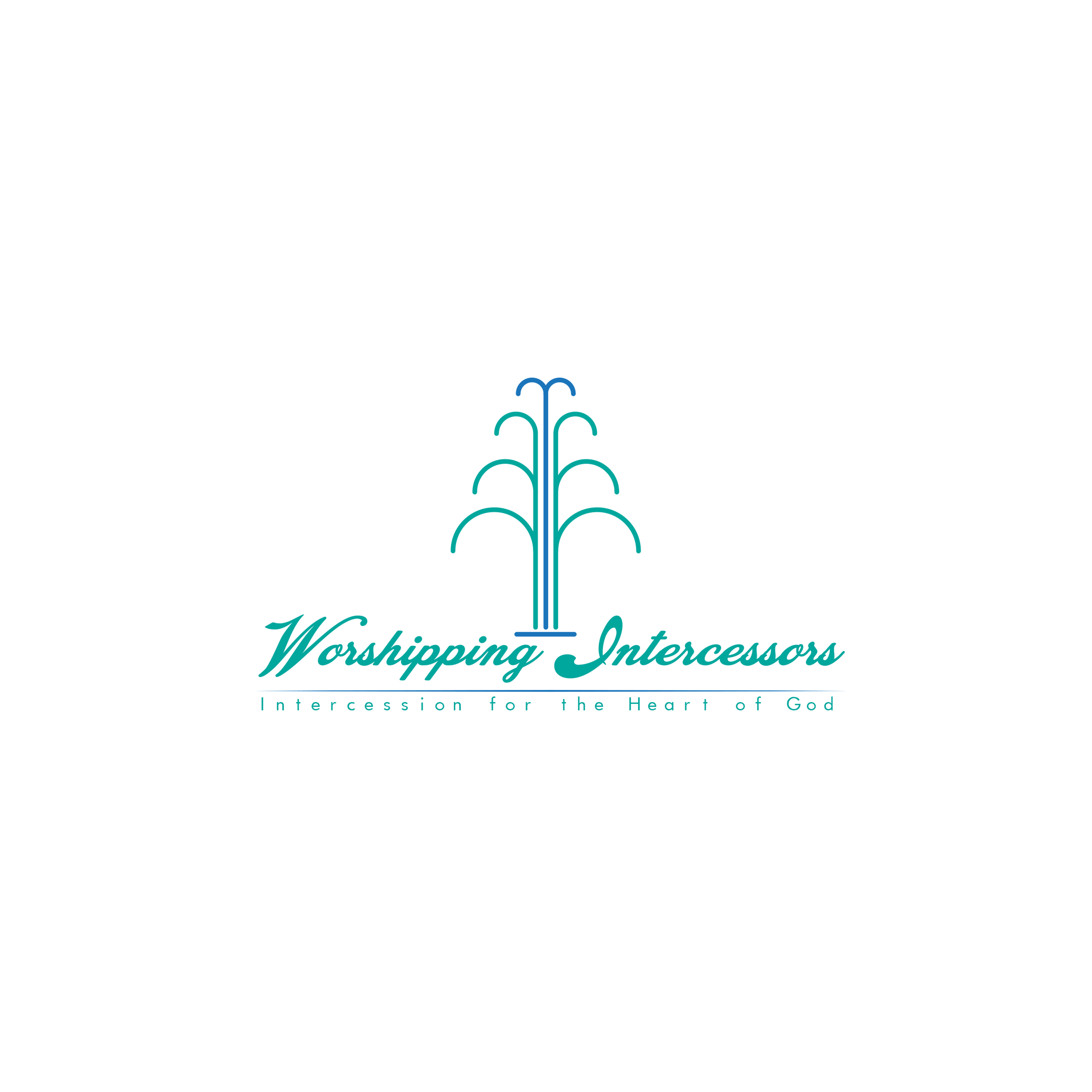 Worshipping Intercessios Logo Design