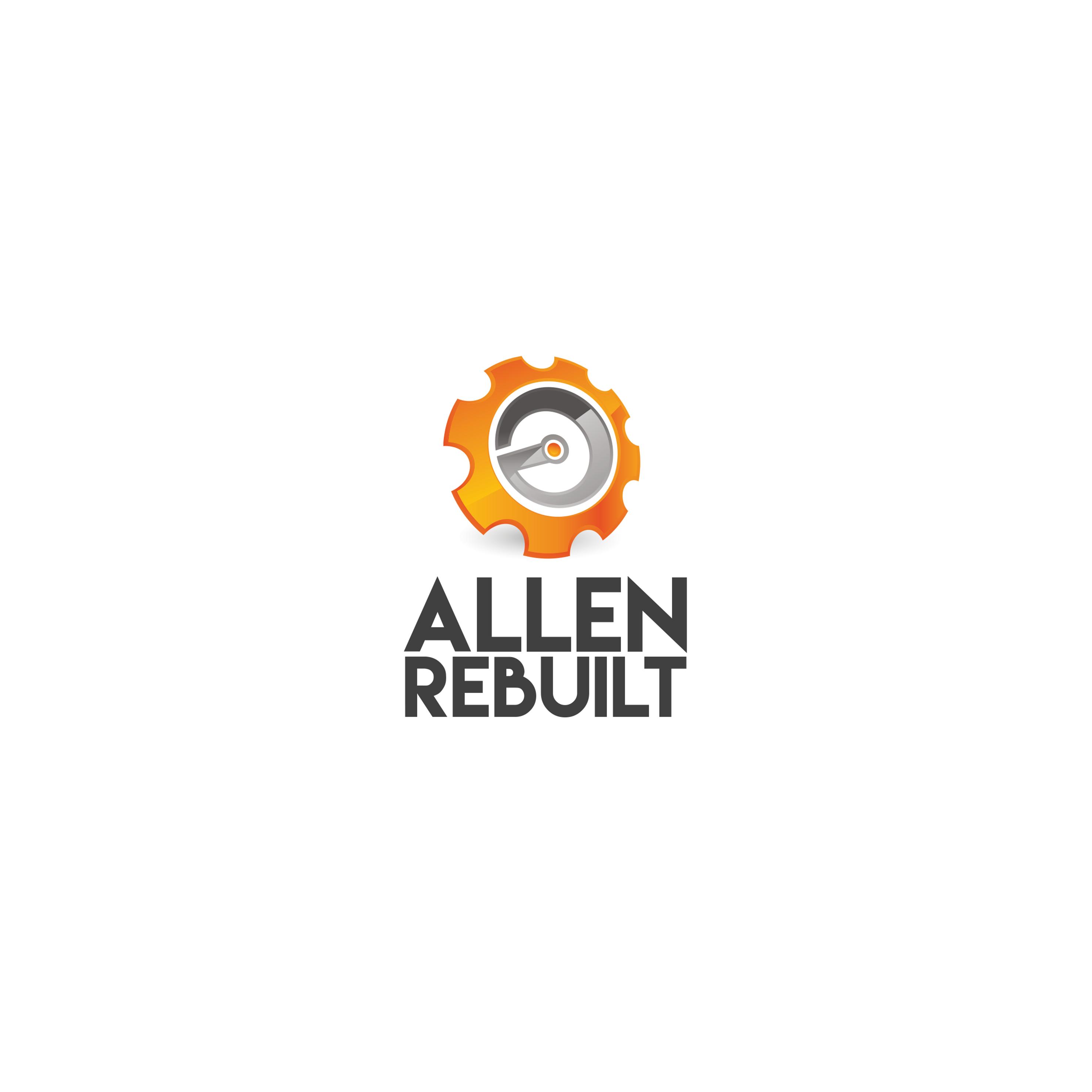 Allen Rebuilt Logo Design