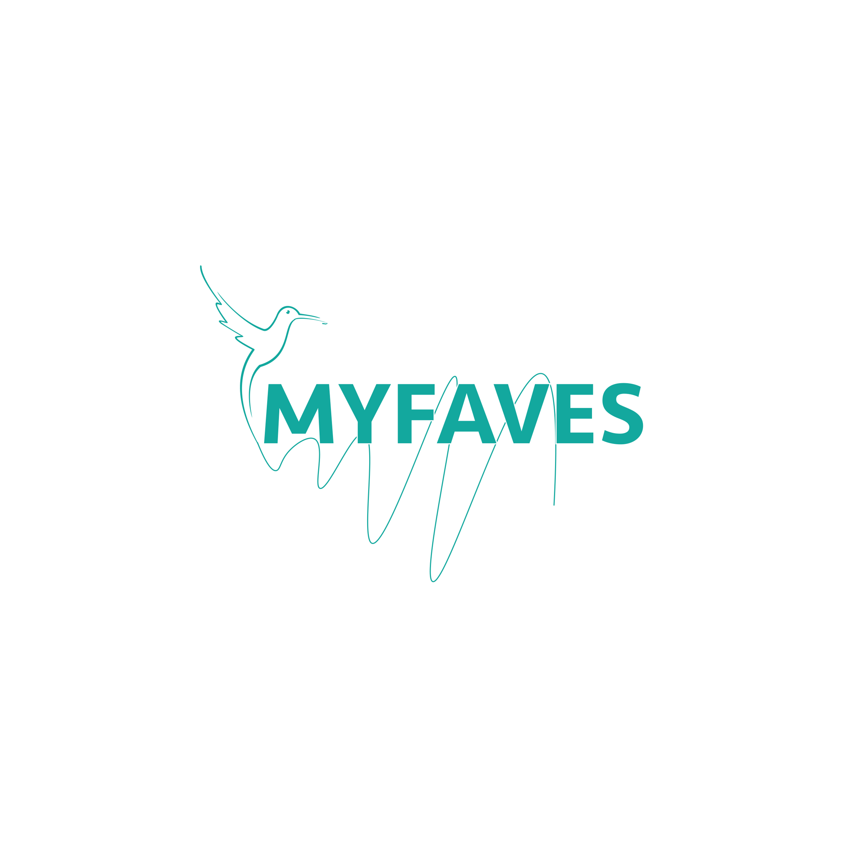 My Faves Logo Design