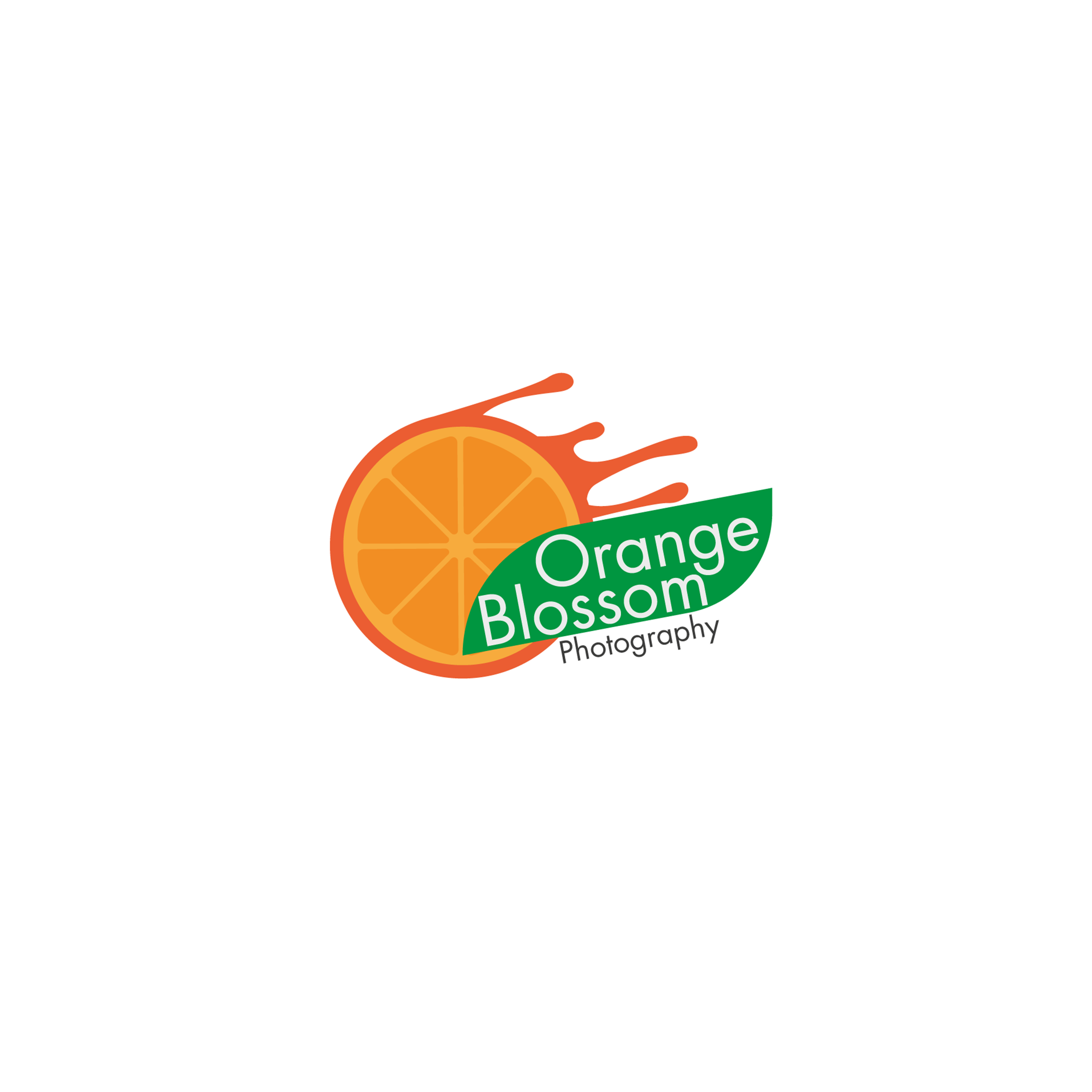 Orange Blossom Logo Design