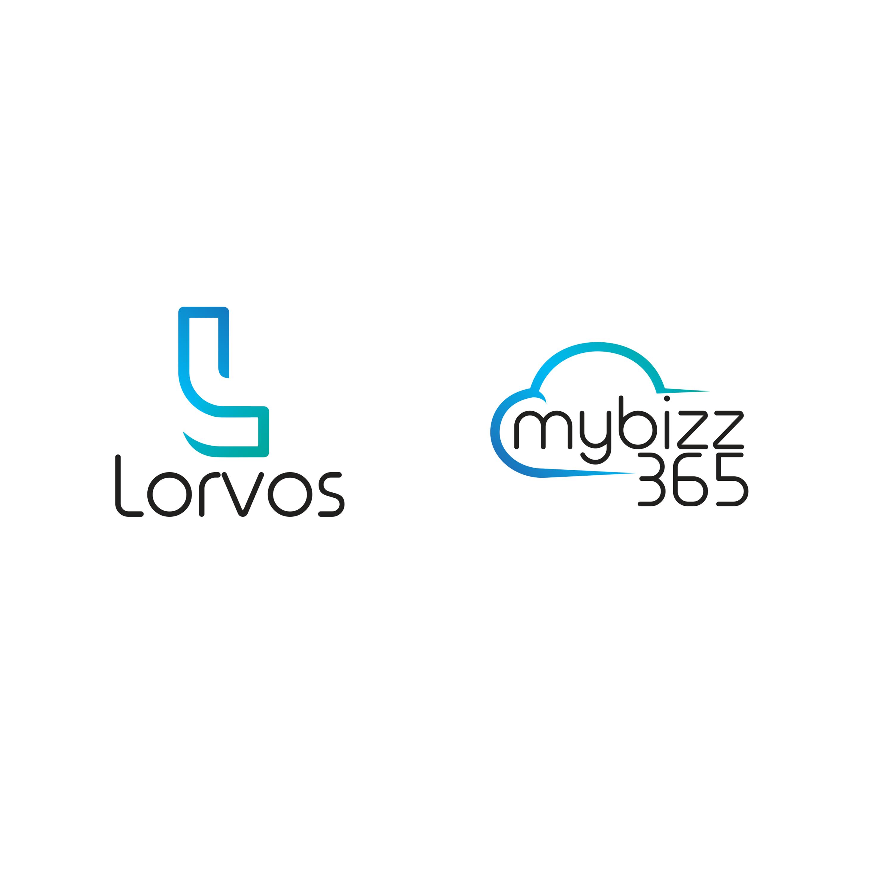 Lorvos | Mu Bizz Joint logo Design
