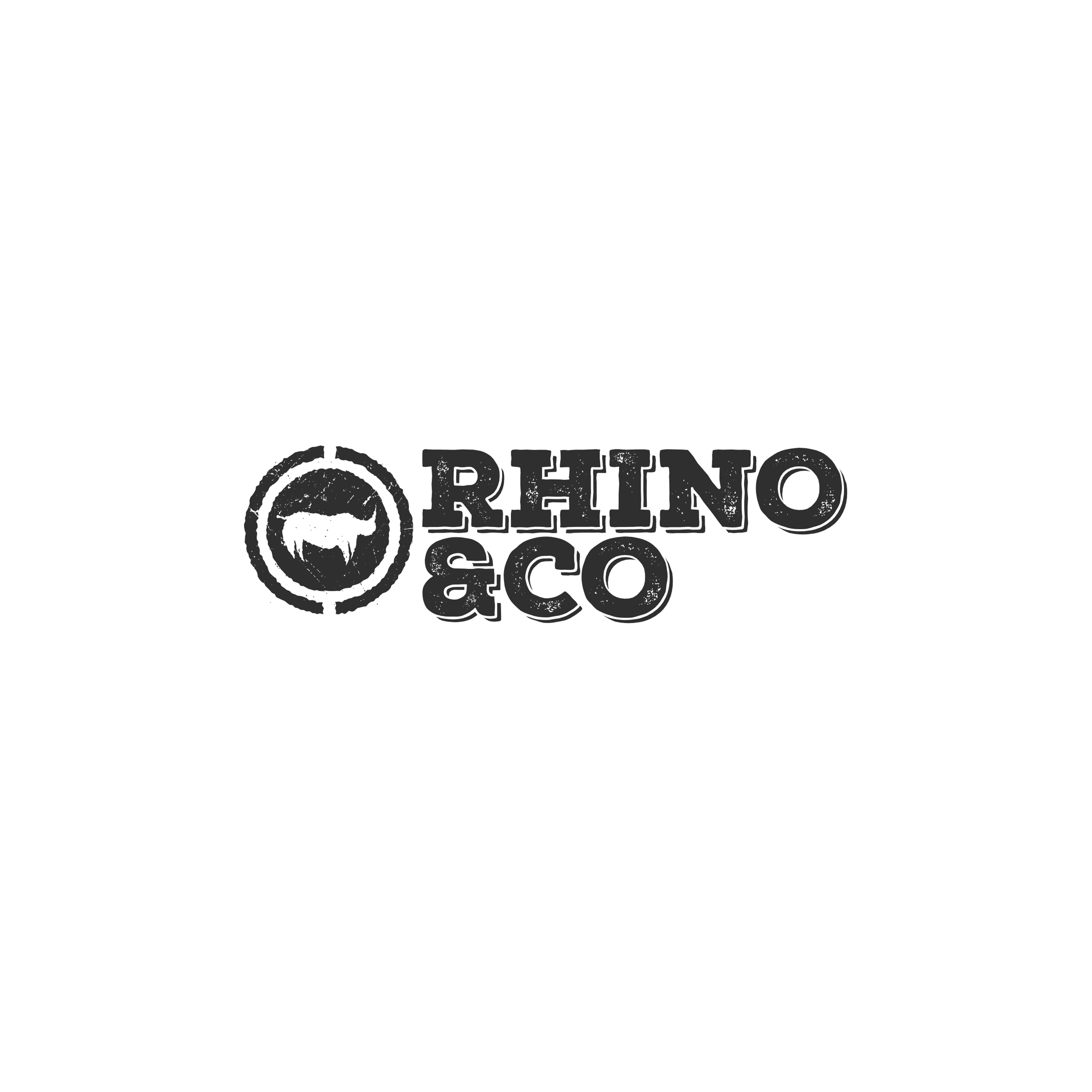 Rhino Co logo Design