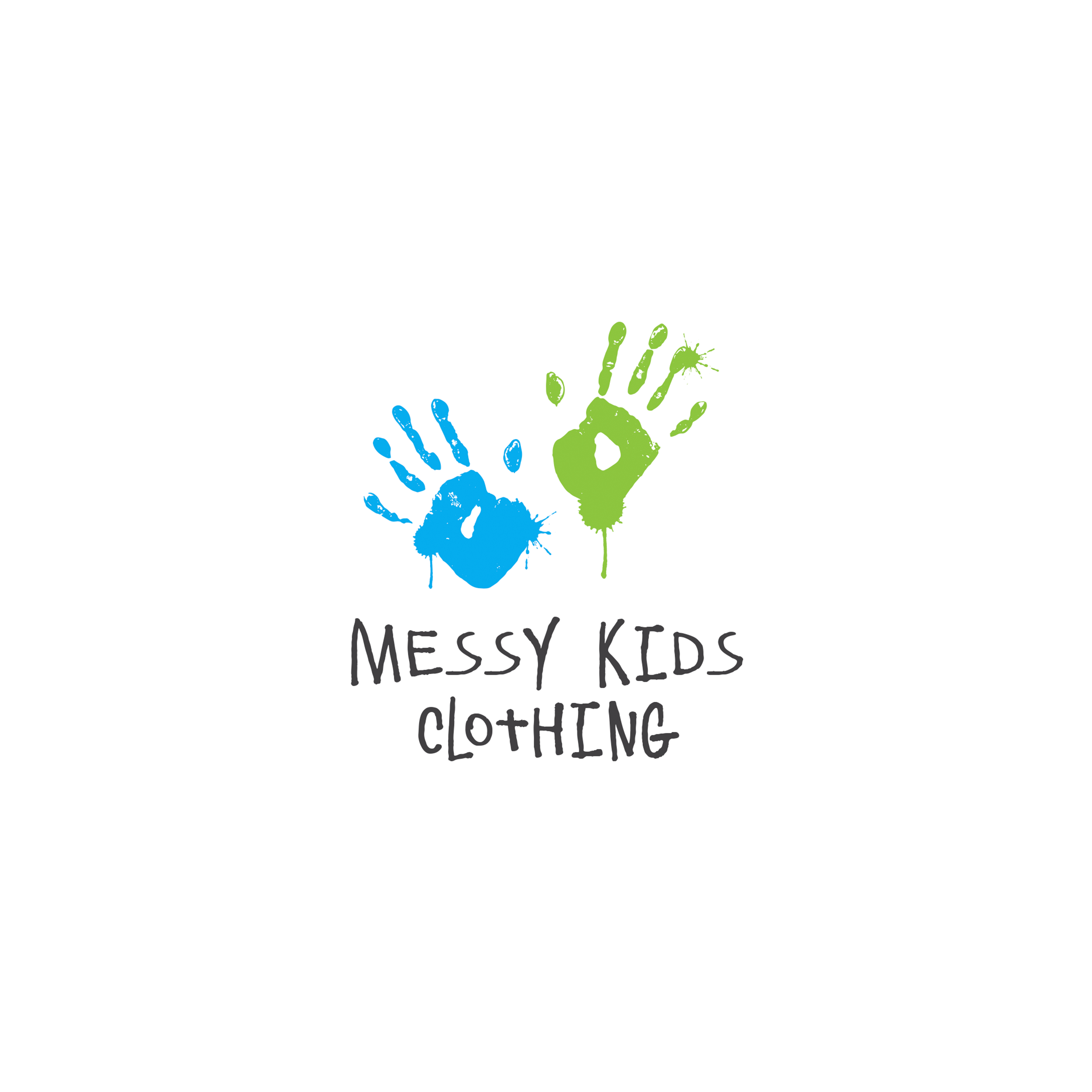 Messy Kids Logo Design