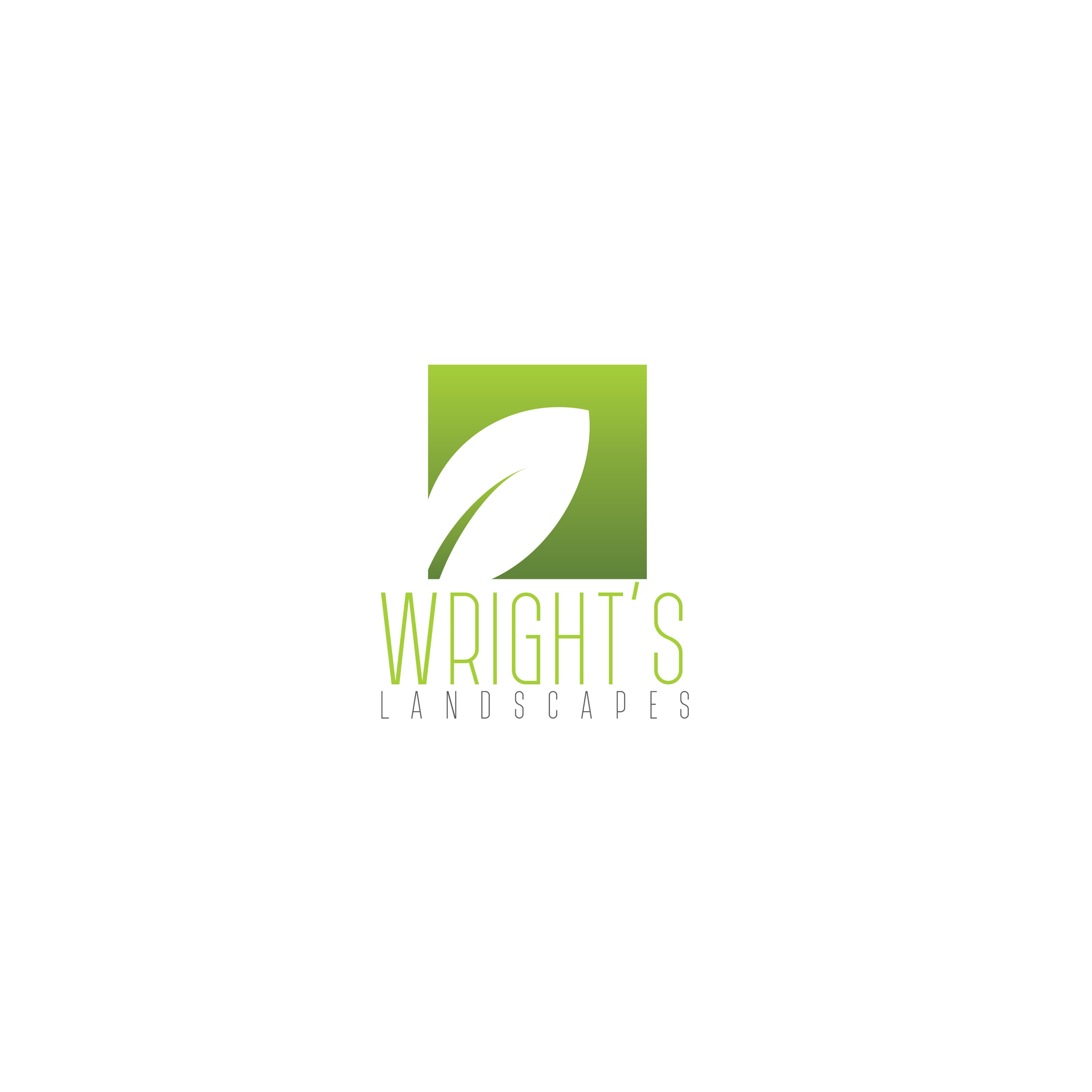 Wright's Logo Design