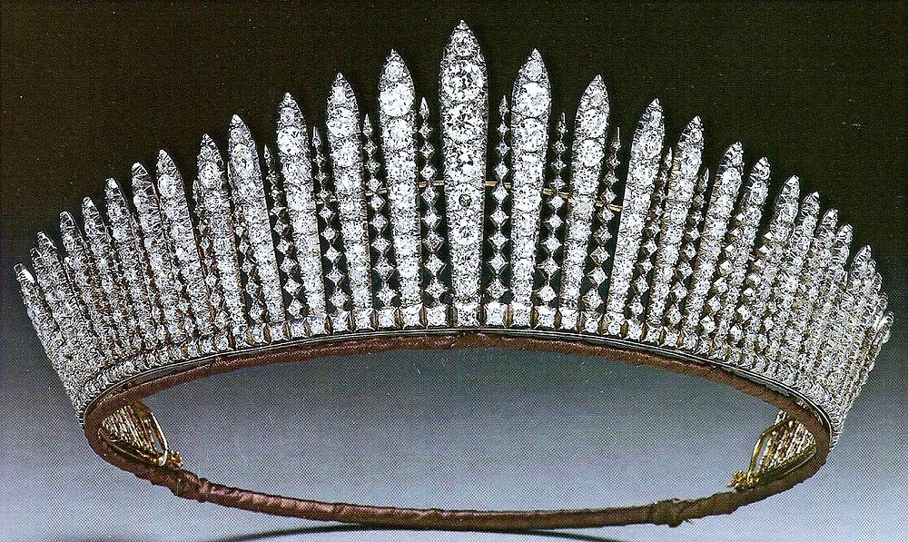 The Queen Mary Diamond Fringe Tiara