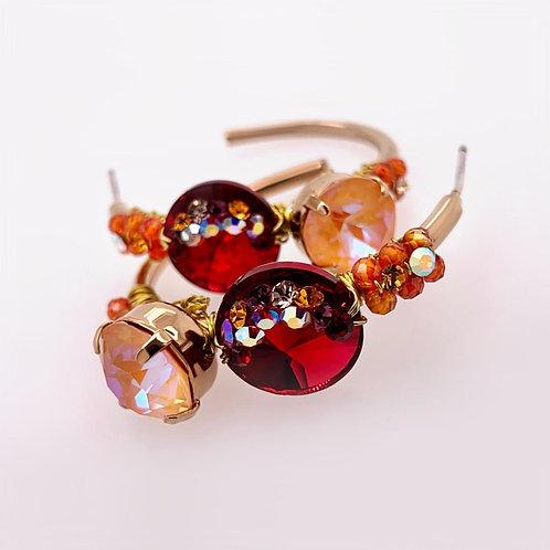 SOFIA Earrings - SUGARPLUM