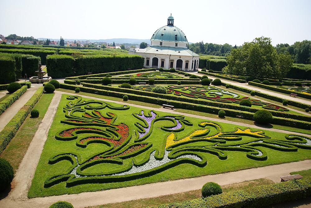 UNESCO Gardens and Castle at Kroměříž