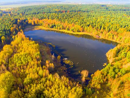 Glacial lakes in the Šumava national park