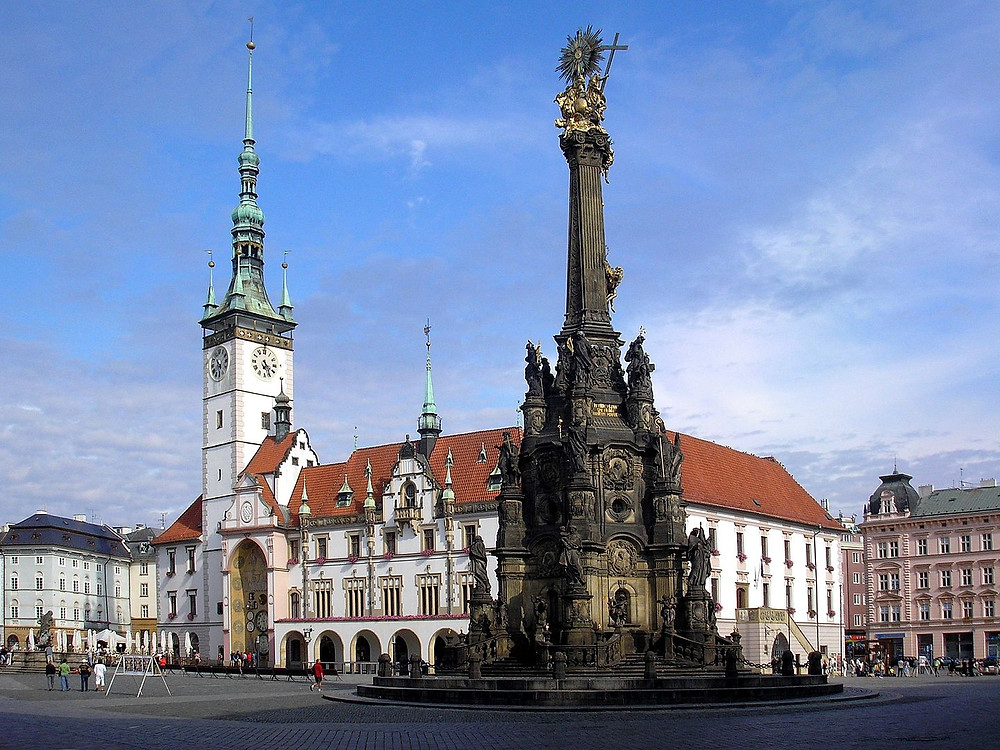 UNESCO Holy Trinity Column in Olomouc