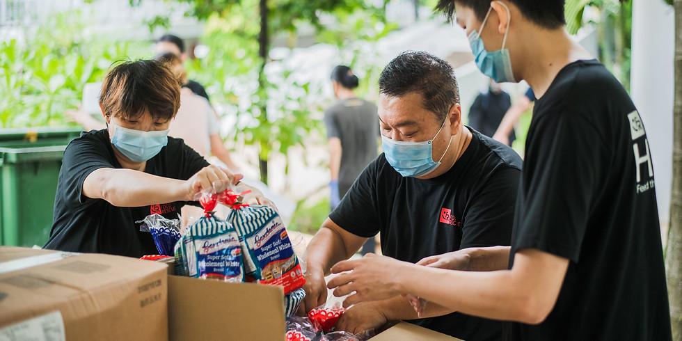 Volunteers - FRSK Fruits and Vegetables Distribution (40 Fernvale Road)