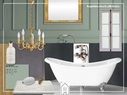 Planche d'inspiration salle-de-bain