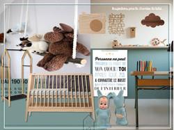 Planche d'inspiration chambre bébé