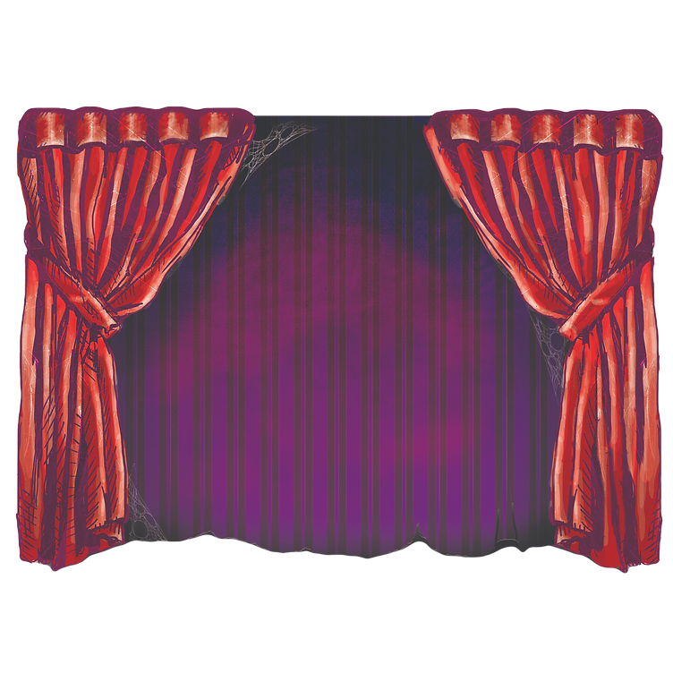Carnival Digita Art Background Concept For Halloween
