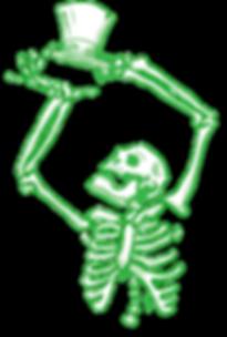 Carniva Skeleton Digital Art Concept for Hallowen