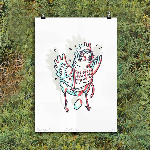 Chicken Screen Print