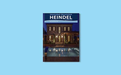 Firmenprospekt der Heindel Schwimmbadtechnik GmbH in Teisendorf