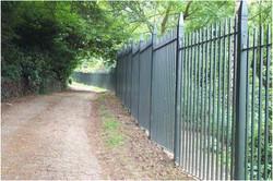 Boundary railing