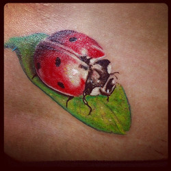 Cute little lady bug I did today