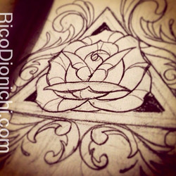 This makes rose #10 for my little sketchbook #RosesOnly #rose #filigree #doodles #drawings #dailyros