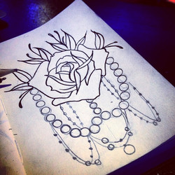 Ok, so I drew a bunch of roses today, so what_ Lol who wants one of these__ Hit me up, let's set up